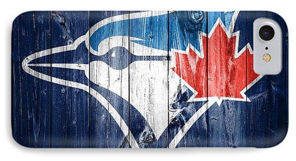 Toronto Blue Jays Barn Door IPhone Case by Dan Sproul