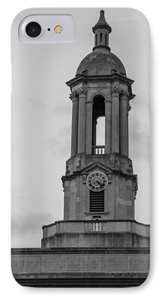 Tower At Old Main Penn State IPhone Case by John McGraw