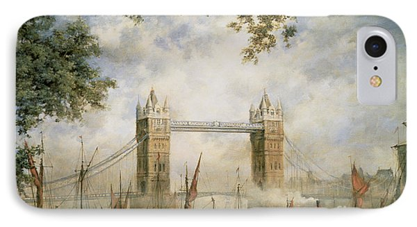 Tower Bridge - From The Tower Of London IPhone Case by Richard Willis