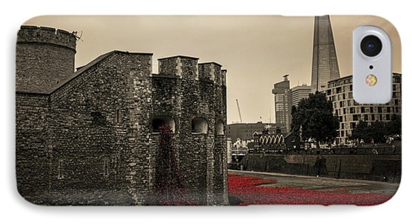 Tower Of London IPhone Case by Martin Newman