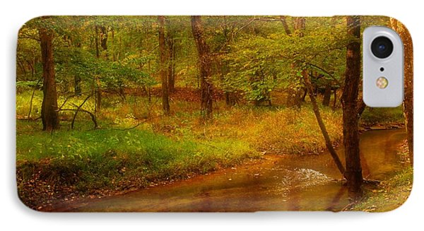 Tranquility Stream - Allaire State Park Phone Case by Angie Tirado