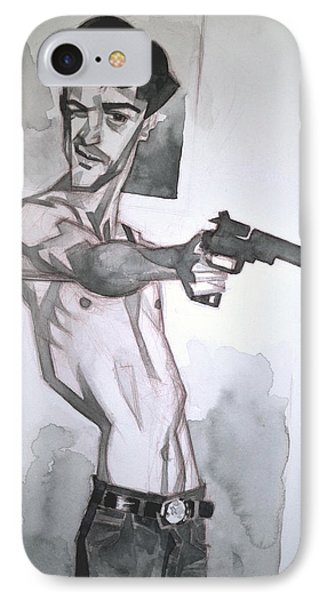 Travis Bickle IPhone Case by Charlie Ramos