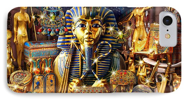 Treasures Of Egypt IPhone Case by Andrew Farley