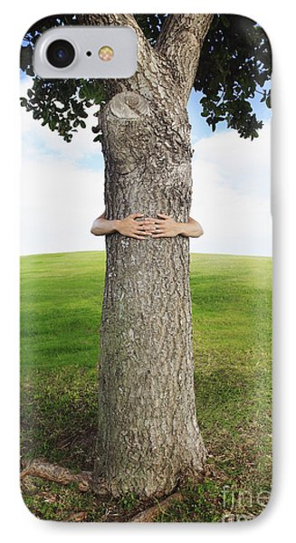 Tree Hugger 3 Phone Case by Brandon Tabiolo - Printscapes