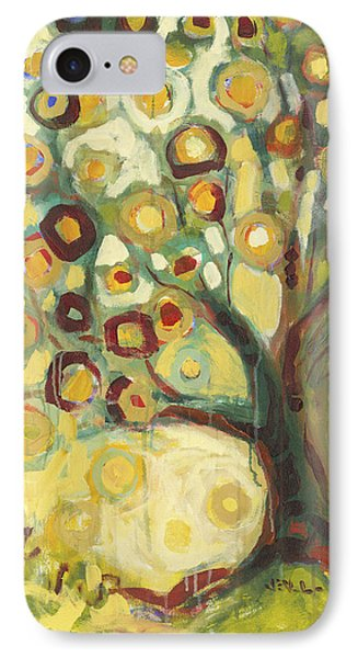 Tree Of Life In Autumn Phone Case by Jennifer Lommers