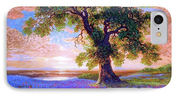 Tree Of Tranquillity IPhone 7 Case by Jane Small