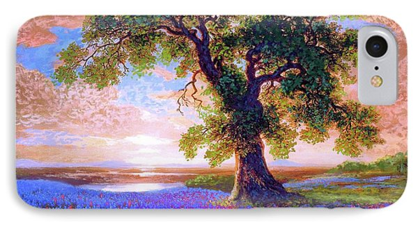 Tree Of Tranquillity IPhone Case by Jane Small