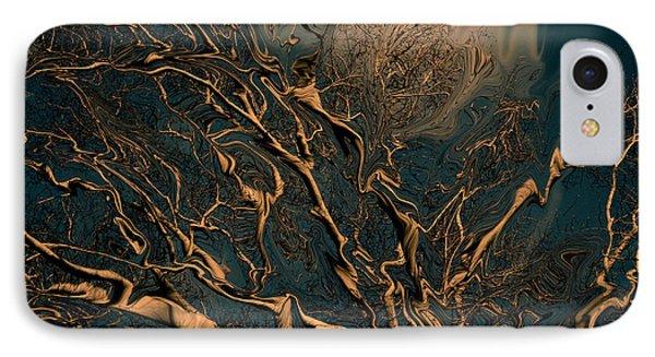 Trippy Tree Phone Case by Linda Sannuti