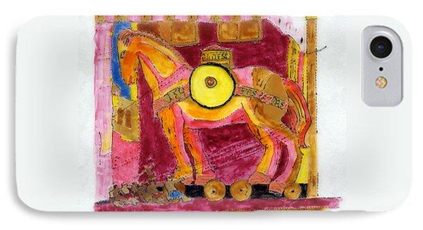 Trojan Horse Phone Case by Phil Strang