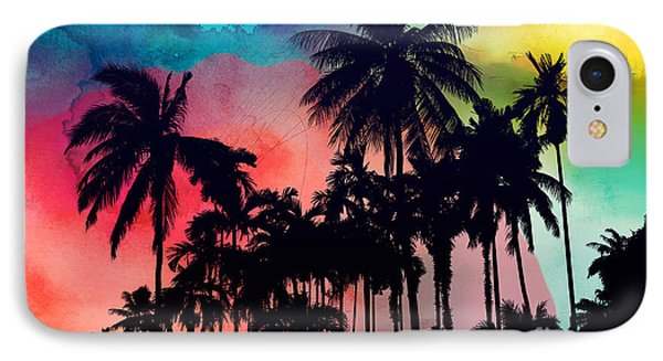 Tropical Colors IPhone 7 Case by Mark Ashkenazi