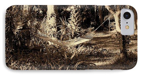 Tropical Hammock Phone Case by Susanne Van Hulst
