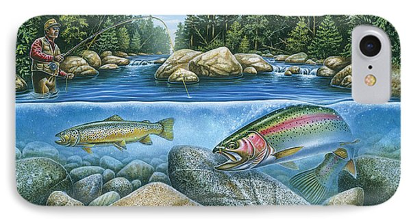 Trout View IPhone Case by JQ Licensing