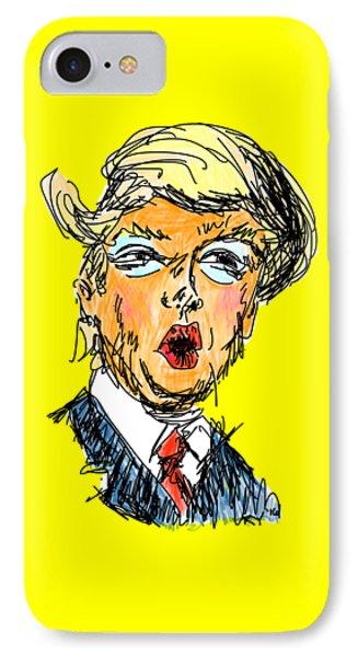 Trump IPhone Case by Robert Yaeger
