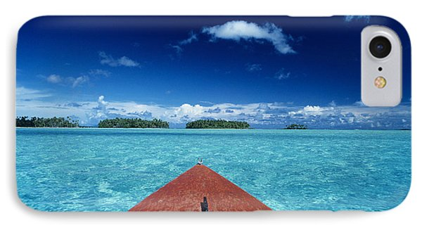 Tuamotu Islands, Raiatea Phone Case by William Waterfall - Printscapes
