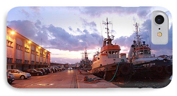 Tug Boats Phone Case by Gaspar Avila