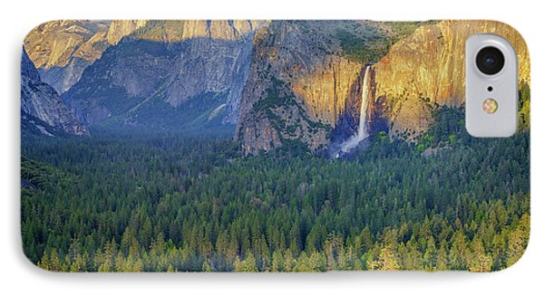 Tunnel View At Sunset IPhone Case by Rick Berk