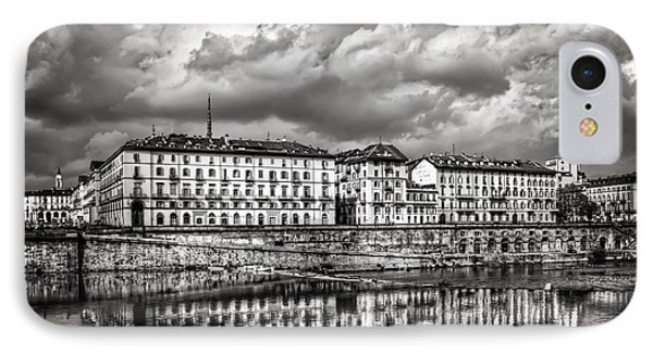 Turin Shrouded In Cloud IPhone Case by Carol Japp