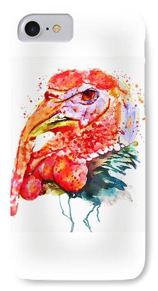 Turkey Head IPhone 7 Case by Marian Voicu