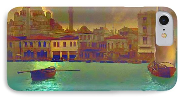 Turkish  Moonlight IPhone 7 Case by Saiyyidah Seema  Z