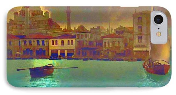 Turkish  Moonlight IPhone Case by Saiyyidah Seema  Z