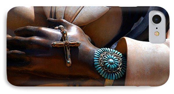 Turquoise Bracelet  IPhone Case by Susanne Van Hulst