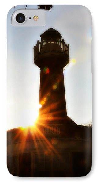Turtle Rock Light House Phone Case by Bill Cannon