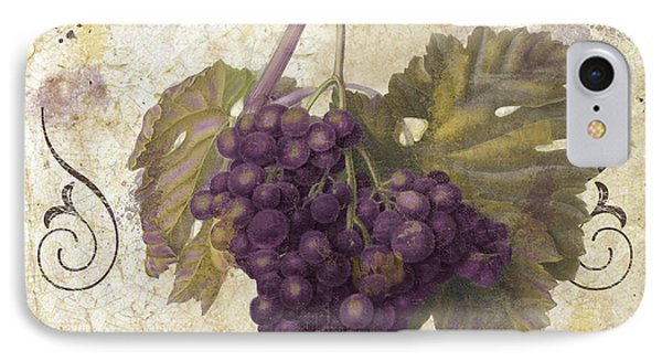 Tuscan Table Merlot IPhone Case by Mindy Sommers