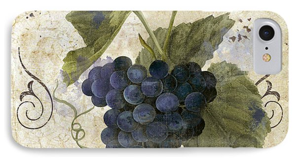 Tuscan Table Pinot Noir IPhone Case by Mindy Sommers