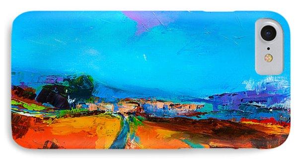 Tuscan Village IPhone Case by Elise Palmigiani