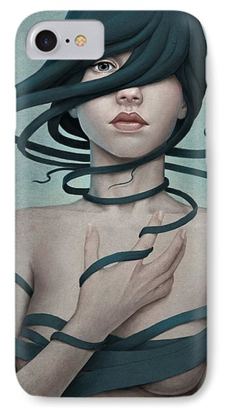 Twisted IPhone Case by Diego Fernandez