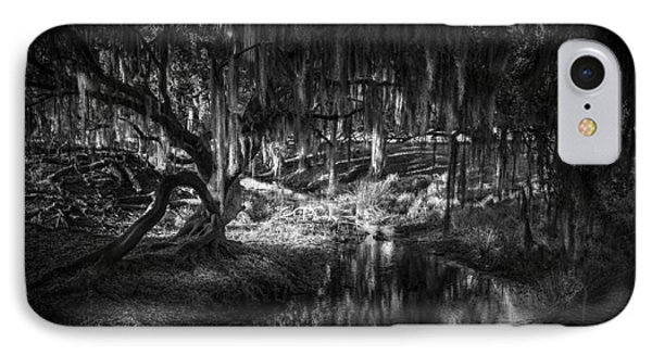 Twisted Oak IPhone Case by Marvin Spates