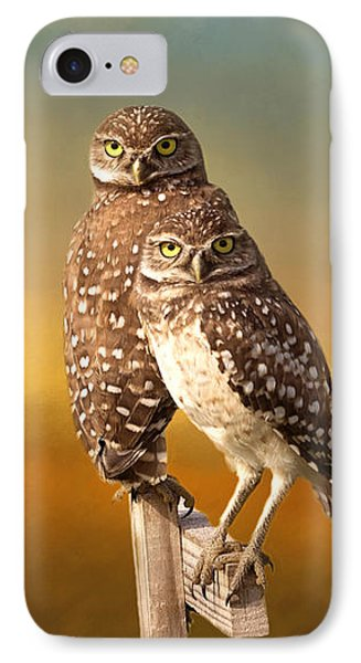 Two Of Us IPhone 7 Case by Kim Hojnacki