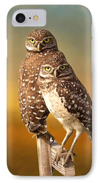 Two Of Us IPhone Case by Kim Hojnacki