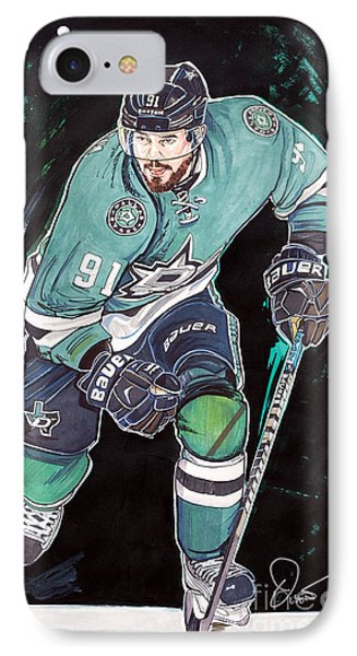 Tyler Seguin Phone Case by Dave Olsen