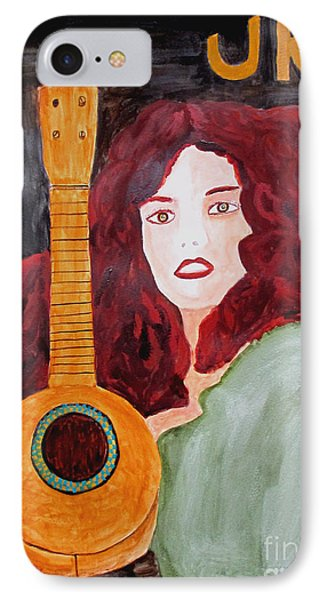 Uke Phone Case by Sandy McIntire