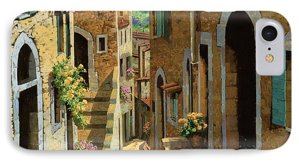 Un Passaggio Tra Le Case IPhone Case by Guido Borelli