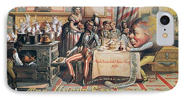 Uncle Sam Range Ad, 1876 Phone Case by Granger