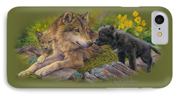 Unconditional Love IPhone 7 Case by Lucie Bilodeau