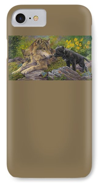 Unconditional Love IPhone Case by Lucie Bilodeau