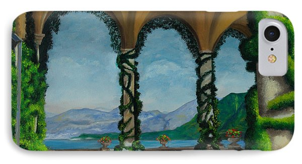 Under The Arches At Villa Balvianella Phone Case by Charlotte Blanchard