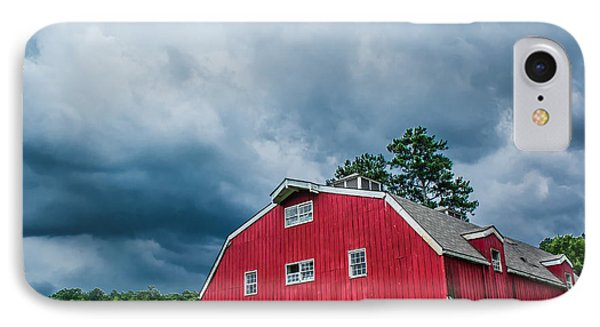 Under The Stormy Skies IPhone Case by Shelby  Young