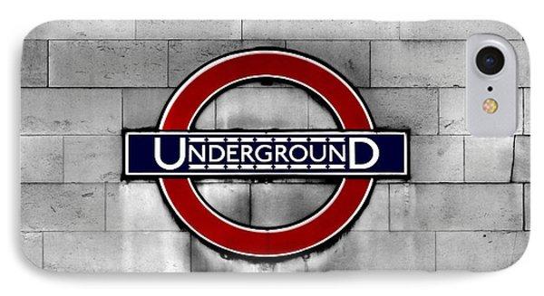 Underground IPhone Case by Mark Rogan