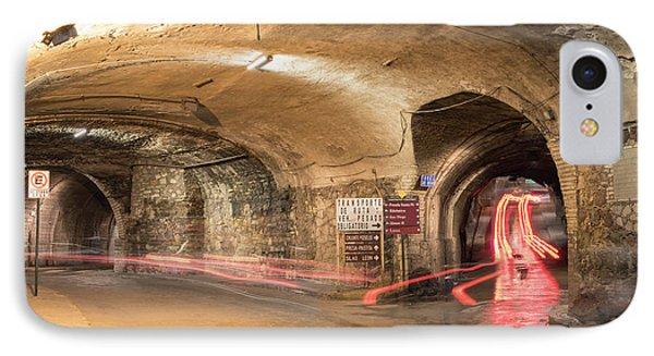 Underground Tunnels In Guanajuato, Mexico IPhone 7 Case by Juli Scalzi