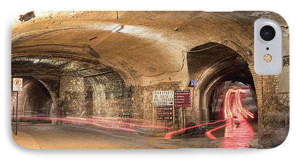 Underground Tunnels In Guanajuato, Mexico IPhone Case by Juli Scalzi