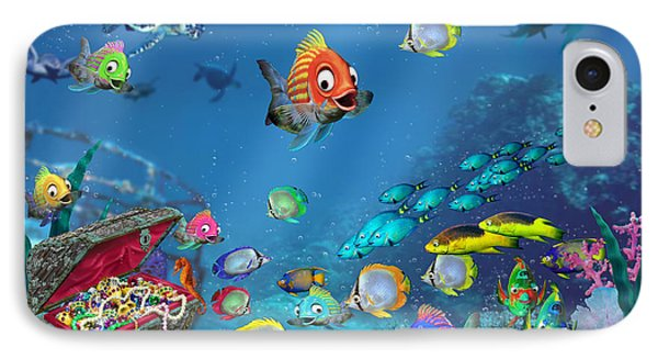 Underwater Fantasy IPhone Case by Doug Kreuger