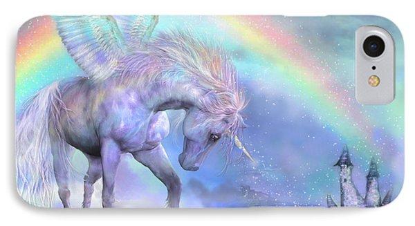 Unicorn Of The Rainbow IPhone 7 Case by Carol Cavalaris