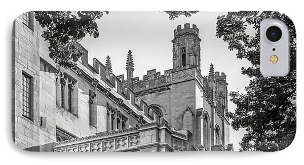 University Of Chicago Collegiate Architecture IPhone Case by University Icons