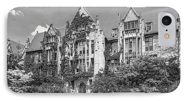 University Of Chicago Eckhart Hall IPhone 7 Case by University Icons