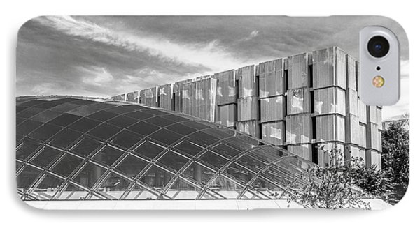 University Of Chicago Mansueto Library IPhone Case by University Icons
