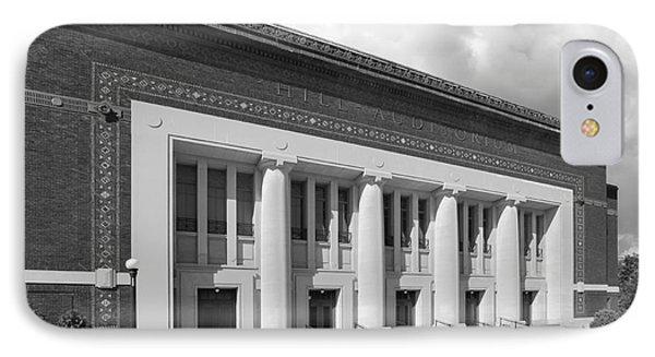 University Of Michigan Hill Auditorium IPhone Case by University Icons
